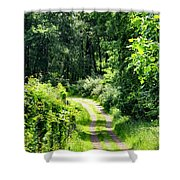 Spring Hikes Shower Curtain