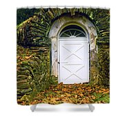 Spring House Shower Curtain