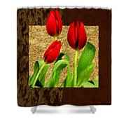 Spring Hues Shower Curtain