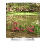 Spring Impression Shower Curtain