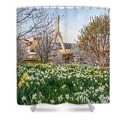 Spring In Boston Shower Curtain