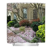 Spring In Capitol Hill Shower Curtain