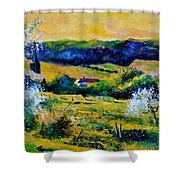 Spring In Matagne  Shower Curtain