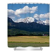 Spring In The Alps Shower Curtain