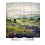 Mountain Spring Iv Shower Curtain
