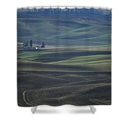 Spring In The Palouse Shower Curtain