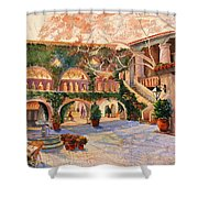 Spring In Tlaquepaque Shower Curtain