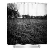 Spring Is Near Holga Photography Shower Curtain