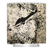 Spring   Jeanne Shower Curtain