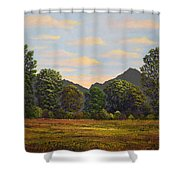 Spring Meadow At Sutter Buttes Shower Curtain