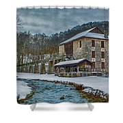 Spring Mill  Shower Curtain