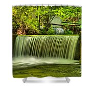Spring Mill Spillway Shower Curtain
