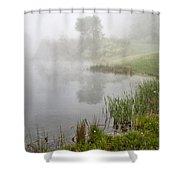 Spring Mist Shower Curtain