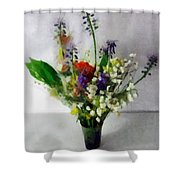 Spring Motley Shower Curtain