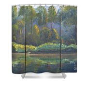 Spring On The Coosa  Shower Curtain