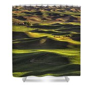Spring On The Palouse Shower Curtain
