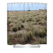 Spring On The Shrub-steppe In Washington Shower Curtain