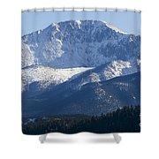 Spring Peak Shower Curtain