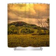 Spring Rain - White Mountains -maine Shower Curtain
