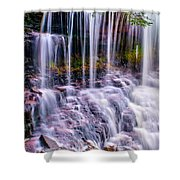 Spring Runoff At The Falls Shower Curtain