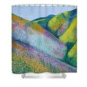 Valley Of Flowers Shower Curtain
