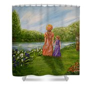 Spring Serenity Shower Curtain