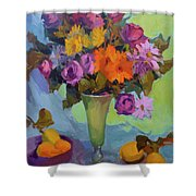 Spring Still Life Shower Curtain