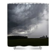 Spring Storm Shower Curtain