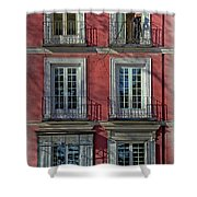 Spring Sunshine In Madrid Shower Curtain