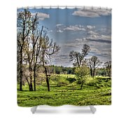 Spring Valley Shower Curtain