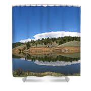 Ridge Over Burgess Res Divide Co Shower Curtain