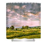 Spring Valley Shower Curtain