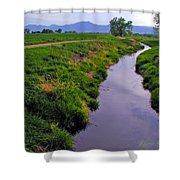 Spring Walk Shower Curtain