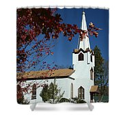 Springboro Rc Church Shower Curtain