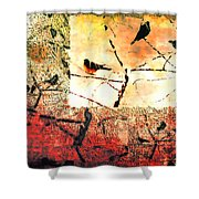 Spring's Coming Shower Curtain
