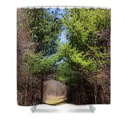 Springs Early Breath Shower Curtain