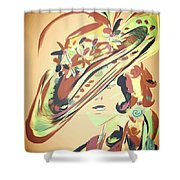 Springs Hat Shower Curtain