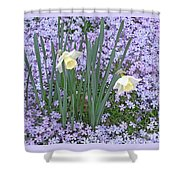 Springtime Beauties Shower Curtain
