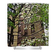 Springtime In Washington Heights 2 Shower Curtain