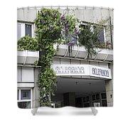 Springtime Lilacs An Farina Cologne Germany Shower Curtain