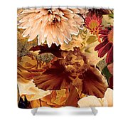 Springtime Melody One Shower Curtain