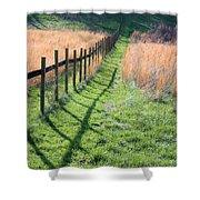 Springtime Pasture Shower Curtain