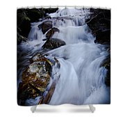 Springtime Waterfall Shower Curtain