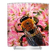 Sprinkled With Pollen Shower Curtain
