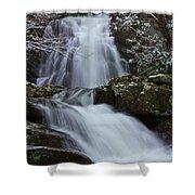 Spruce Flats Falls IIi Shower Curtain