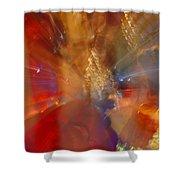 Spun Crystal Shower Curtain