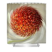 Spun Nature Shower Curtain
