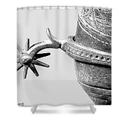 Spurs Shower Curtain