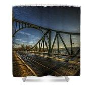 Spy Bridge Shower Curtain