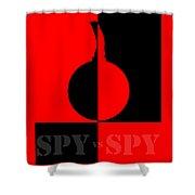 Spy Vs Spy Shower Curtain